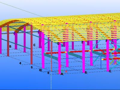 مدلسازی سوله در تکلا