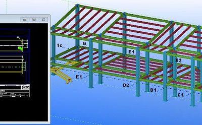 مدل سازه صنعتی در تکلا