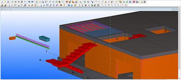 مدلسازی سازه بنایی در تکلا استراکچرز