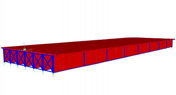 طراحی پل فلزی